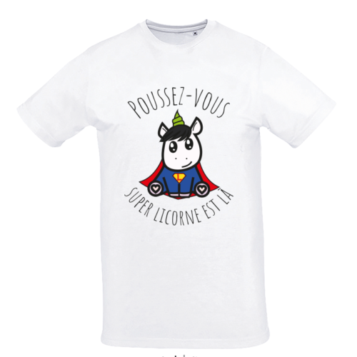 tee shirt licorne superlicorne